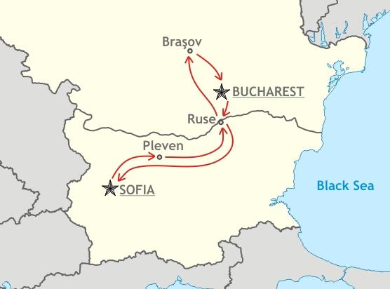 Bulgaria Romania RUAL Travel